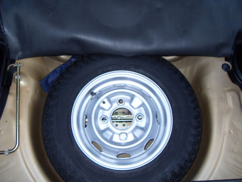 1977 honda civic mk1 auto spare wheel