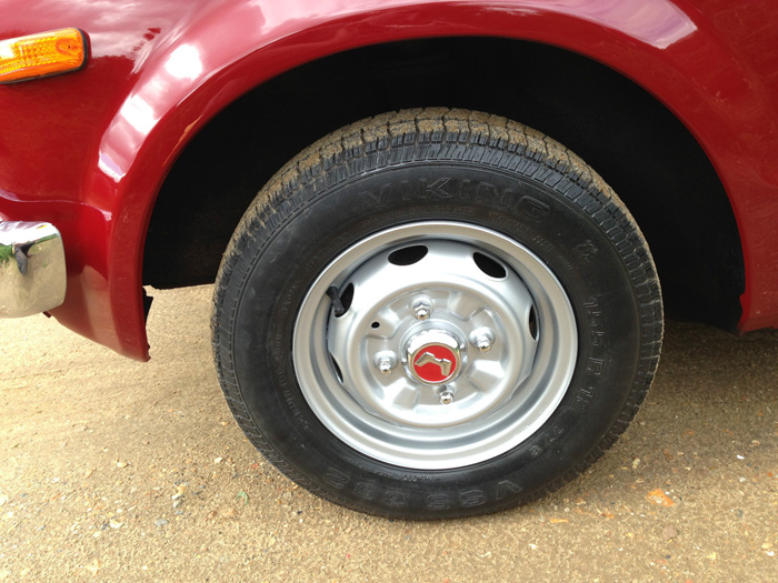 1976 Honda Civic MK1 Wheel