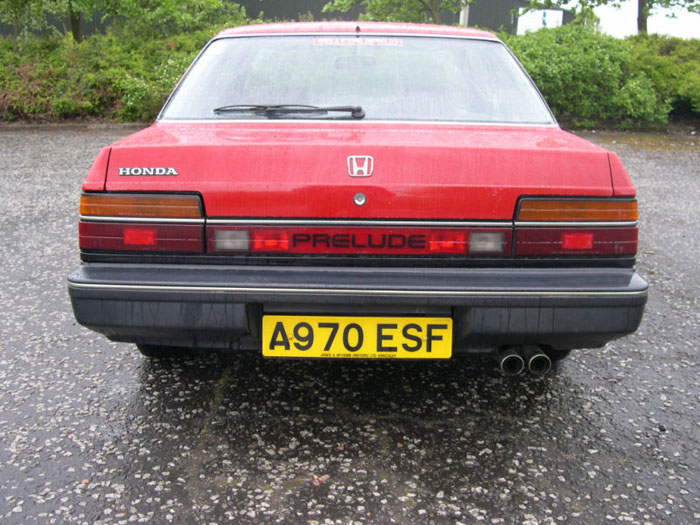 1984 honda prelude gm red back