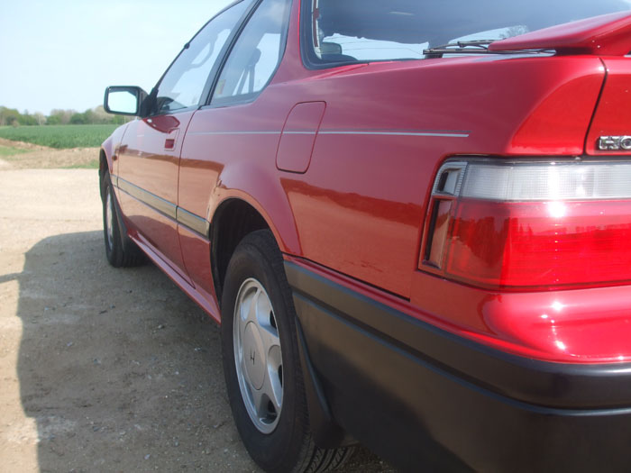 1991 Honda Prelude EX Auto Left Side