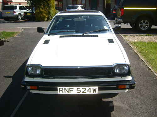 1981 Honda Prelude 1st Gen 2A Front