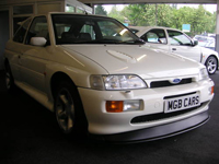 104 1996 ford escort rs cosworth white icon