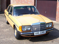 128 1978 mercedes benz w123 250 automatic icon