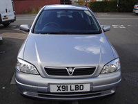 134 2000 vauxhall astra club auto grey icon
