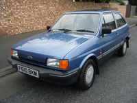 162 1988 ford fiesta 1.1 ghia auto icon
