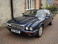 170 1995 jaguar sovereign auto blue icon