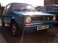 195 1975 vw mk1 golf l icon