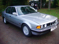 197 1989 bmw 735 i se auto grey icon