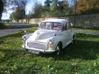 214 1967 morris minor 1000 white icon