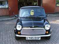 225 1989 rover mini 30th anniversary black icon