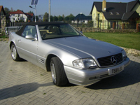 243 1999 mercedes benz sl320 v6 auto icon