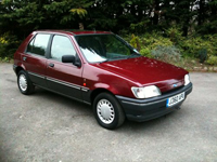 244 1992 ford fiesta 1.4 ghia icon