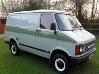 245 1986 bedford cf2 panel van icon