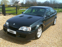 253 1993 vauxhall lotus carlton turbo green icon