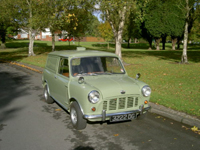 270 1963 austin mini van icon