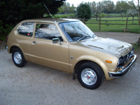 289 1977 honda civic mk1 auto icon