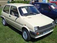302 1985 austin metro city beige icon