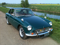 303 1972 mgb gt green icon