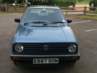 311 1987 volkswagen golf gl 1.8 auto blue icon