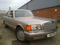 321 1989 mercedes 300se auto smoke silver icon