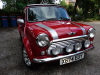 335 2000 rover mini cooper sport multi-coloured icon