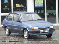 341 1987 ford fiesta 1.1l icon