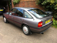 353 1989 vauxhall cavalier sri grey icon