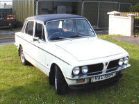 359 1976 triumph dolomite sprint white icon