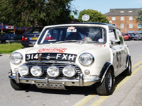382 1962 mini cooper mk1 s rally prepared icon