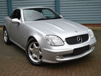 417 2002 mercedes benz slk230 kompressor 2.3 auto icon