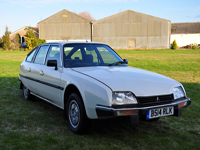 418 1985 citroen cx 25 pallas ie white series 1 icon