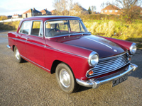 441 1964 morris oxford maroon icon
