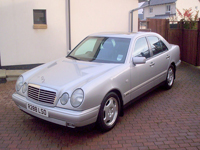 473 1997 mercedes e200 avantgarde a silver icon