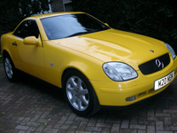 481 1998 mercedes benz slk 200 k icon