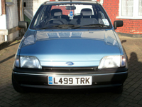 492 1993 ford fiesta 1.1i festival icon