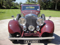 504 1937 bentley 3.5 litre park ward derby saloon icon