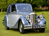 513 1950 jaguar mark v 3.5 litre icon