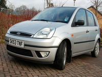 523 2003 53 plate ford fiesta 1.6 ghia 5 door icon