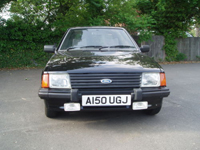 527 1984 ford escort 1.3 gl mk3 black 5dr icon