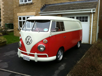 559 1964 vw splitscreen camper panel van icon
