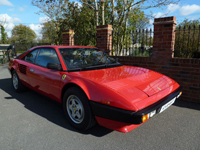 568 1985 ferrari mondial 3.0 qv coupe in rosso red icon