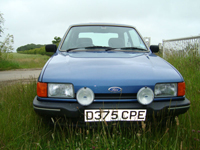 594 1987 ford fiesta ghia blue icon