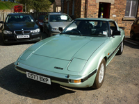 595 1986 mazda rx7 2 door coupe metallic green icon