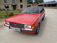 863 1980 Ford Cortina MK5 2.3 Ghia Estate Icon