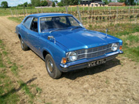 1093 1972 Ford Cortina MK3 2000 XL Icon