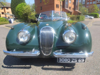 1128 1954 Jaguar XK-120 Roadster Icon