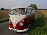 1224 1966 Volkswagen Camper Split Screen Icon