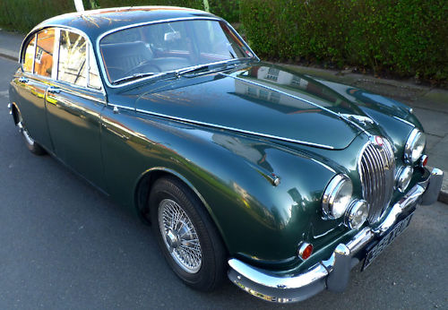 1961 jaguar mk ii 3.8 litre manual 1