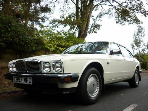 1987 jaguar xj6 white 1
