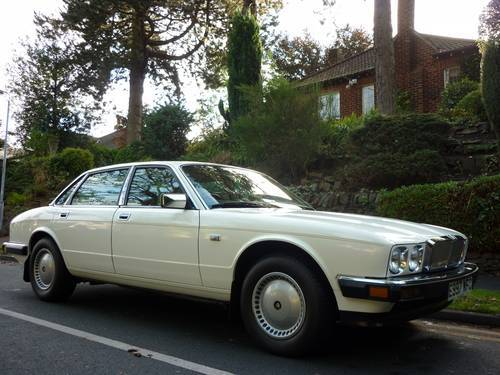 1987 jaguar xj6 white 2